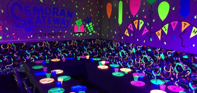 Birthday party rooms for ALL AGES!